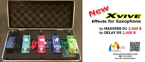Xvive Effects for Saxophone