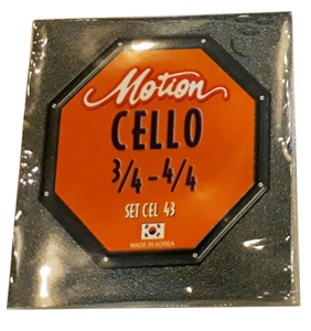 สายเชลโล Motion SET CEL 43 Cello string set