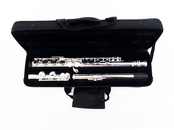Overtone Flute Silver Plate Closed-hole Flute